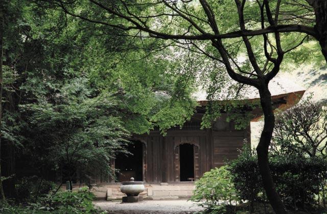 覚園寺の本堂薬師堂