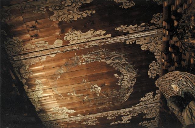 覚園寺の薬師堂の天井図
